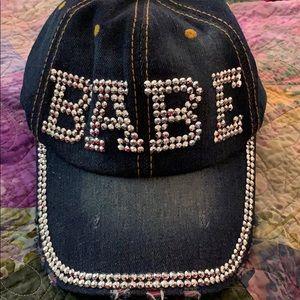 Accessories - BABE hat